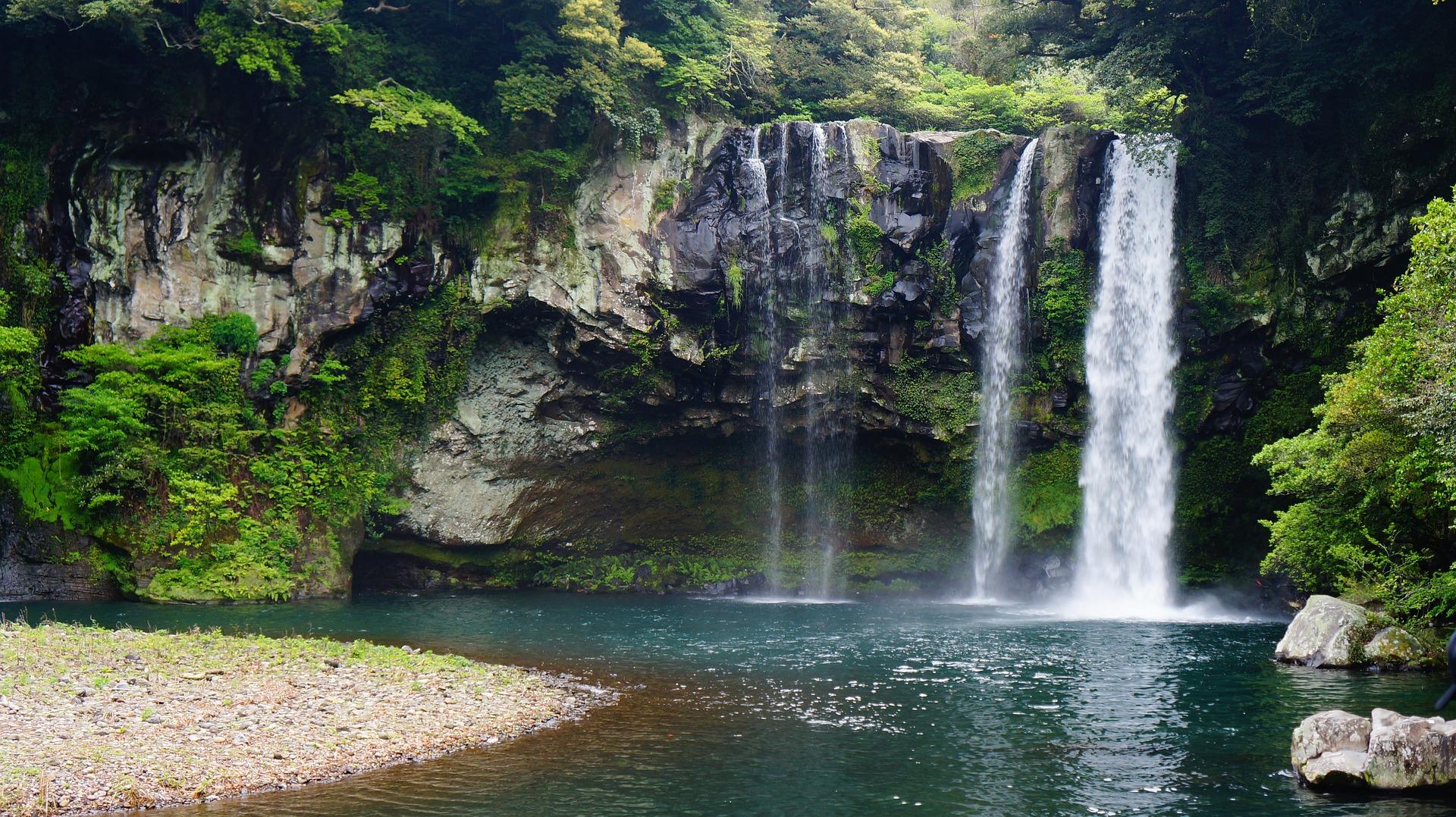 Cheonjeyeon Waterfall Jeju