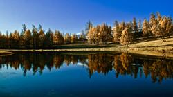 Khoton and khurgan lake, Mongolia