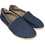 Thumbnail: Slip-on Flats - Denim w/ Jute accent