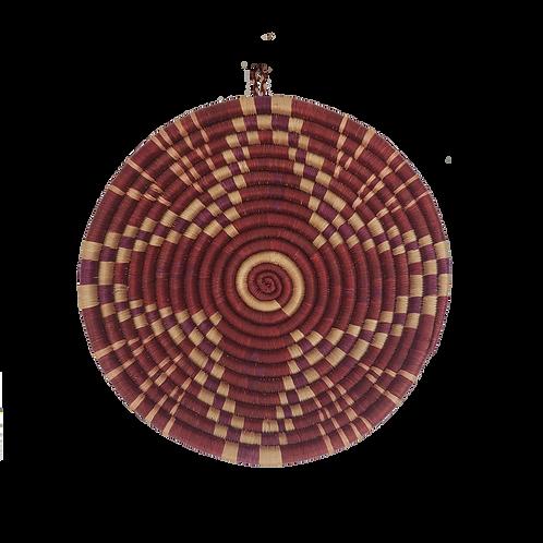 Starburst Basket - Cranberry