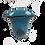 Thumbnail: Dark Blue Handblown Recycled Glass Vase