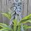 Thumbnail: Macrame & recycled handblown glass plant hanger
