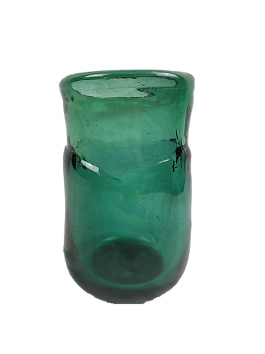 Emerald Handblown Recycled Glass Vase