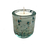 Thumbnail: Handblown Recycled Glass Soy Candle - Eucalyptus Mint