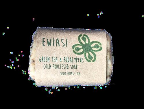 Cold Process Soap - Green Tea & Eucalyptus