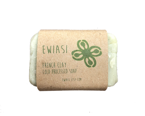 Cold Process Soap - French Green Clay