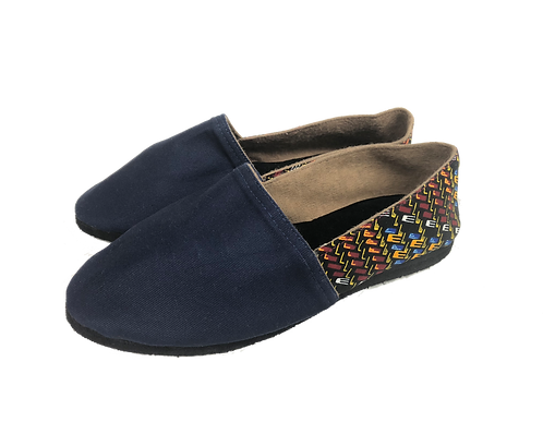 Two-tone Slip-on Flats