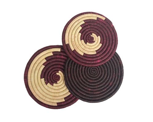 Cranberry Trivets - Single