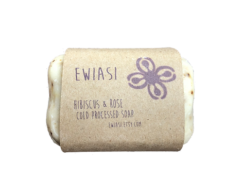 Cold Process Soap - Hibiscus & Rose