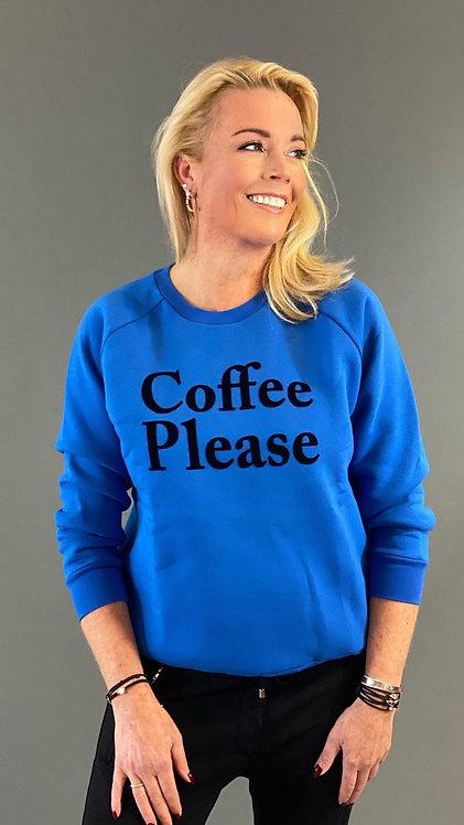 COFFEE PLEASE SWEATER