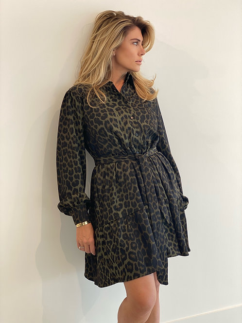 EST'Jolanda Dress Army Leopard