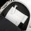 Thumbnail: EST' LEATHER BAG MIREL WHITE (silver buckle slide)
