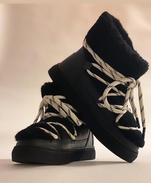 """Est'Mouton Boots Gurly Fur """"Black"""""""