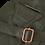 Thumbnail: EST' LEATHER BAG MIREL ARMY GREEN