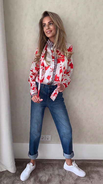 EST'BLOUSE RED BLOSSOM