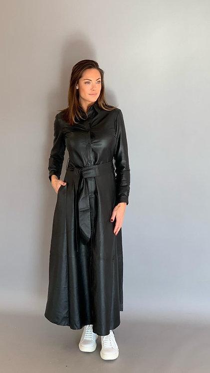 """EST'BUTTON DOWN DRESS"""" BLACK"""""""