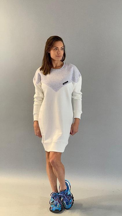 EST'SEVEN LOGO DRESS
