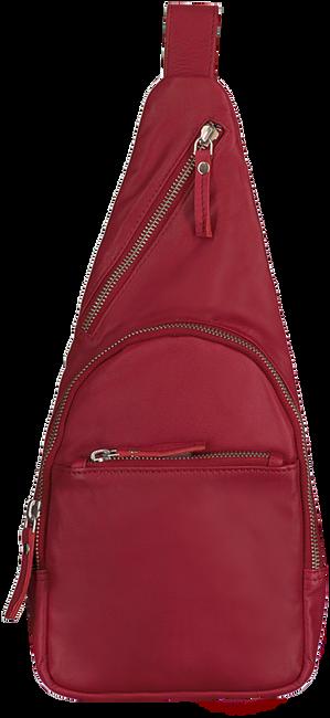EST' LEATHER BAG MIREL TRUE RED