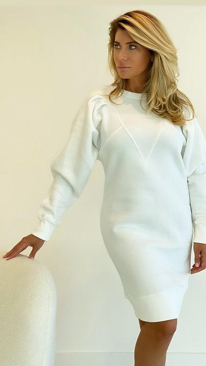 """EST'VETEMENTS V DRESS """"OFF WHITE"""""""
