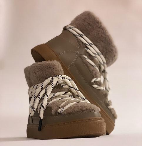 """Est'Mouton Boots Gurly Fur """"Tauphe"""""""