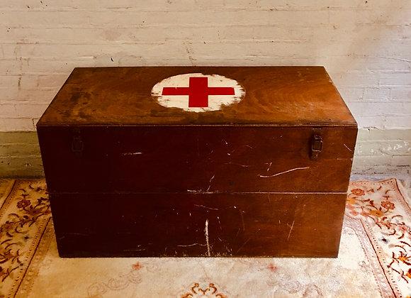 Grote vintage kist