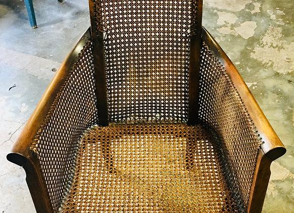 Antieke stoel webbing