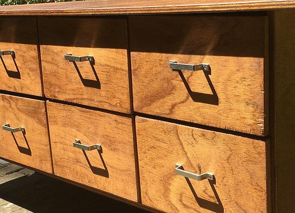 Originele, houten werkbank