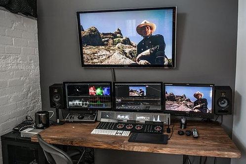 Video, Sala de Post-Producción
