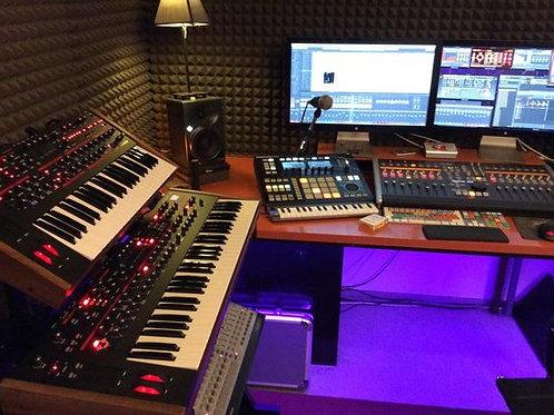 Audio, Sala de Edición, Grabación e Instrumentos musicales