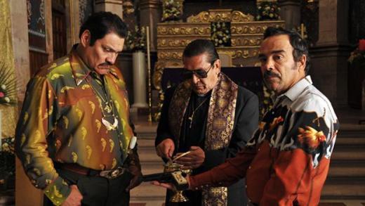 Fotograma de El Infierno (2010), dirigida por Luis Estrada.