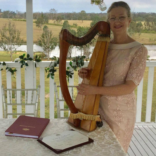 The Harpist Celebrant