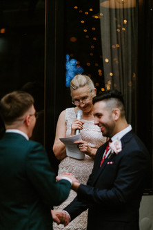 Arnold & Jordan's Wedding with Celebrant Fiona Dunbar King.