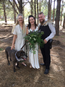 Viking Wedding Celebrant Fiona King