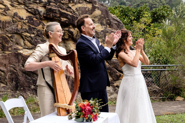 Celtic Harp Wedding Fiona King