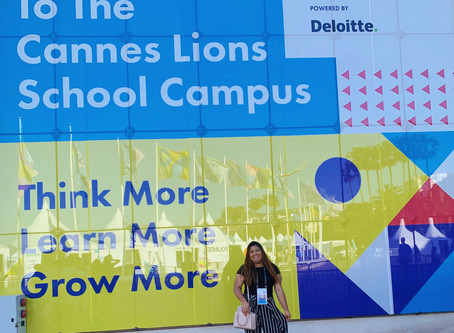 My Once-in-a-life-time Experience at Cannes Lions
