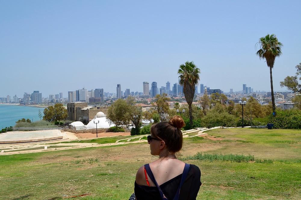 Tel Aviv vista. foto: Shaina Gluckman