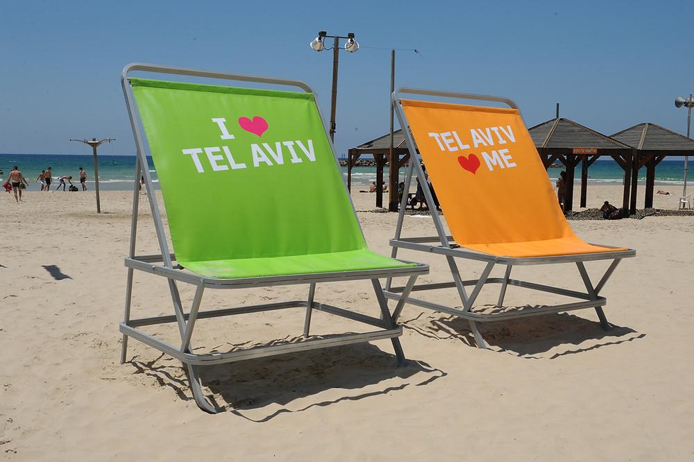 Spiaggia di Tel Aviv Tel Aviv. photo: Kfir Sivan