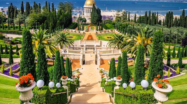 Haifa e I Giardini Bahai