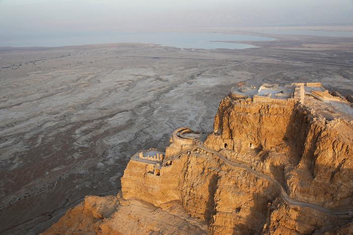 Mar Morto e Masada
