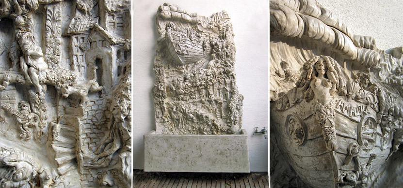 Betonbrunnen