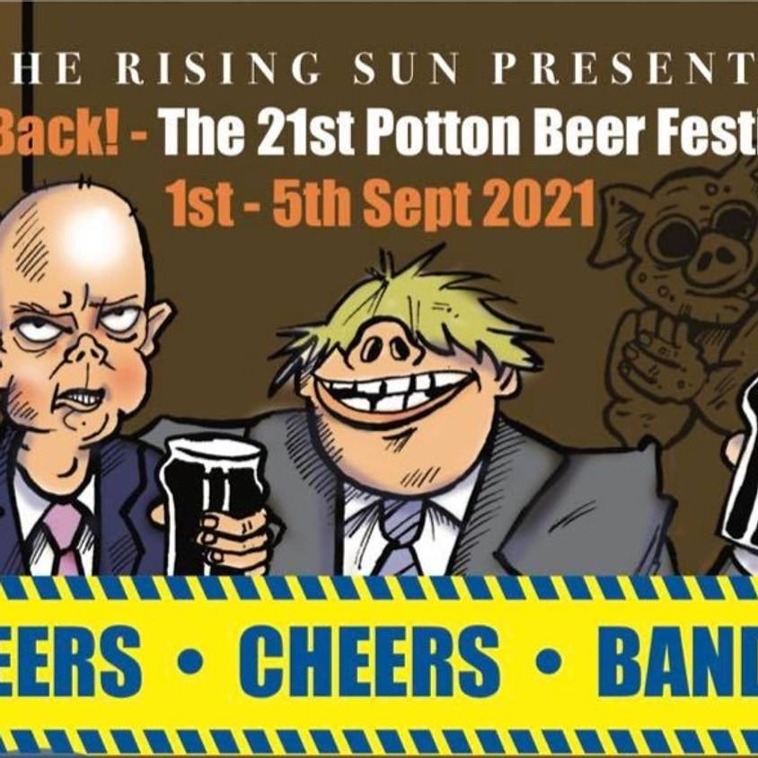 21st Potton Beer Festival
