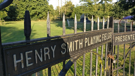 Henry Smith Playing field