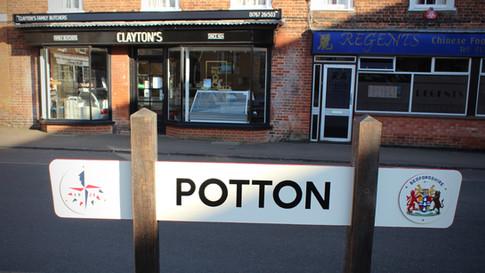 Clayton's Butchers Potton