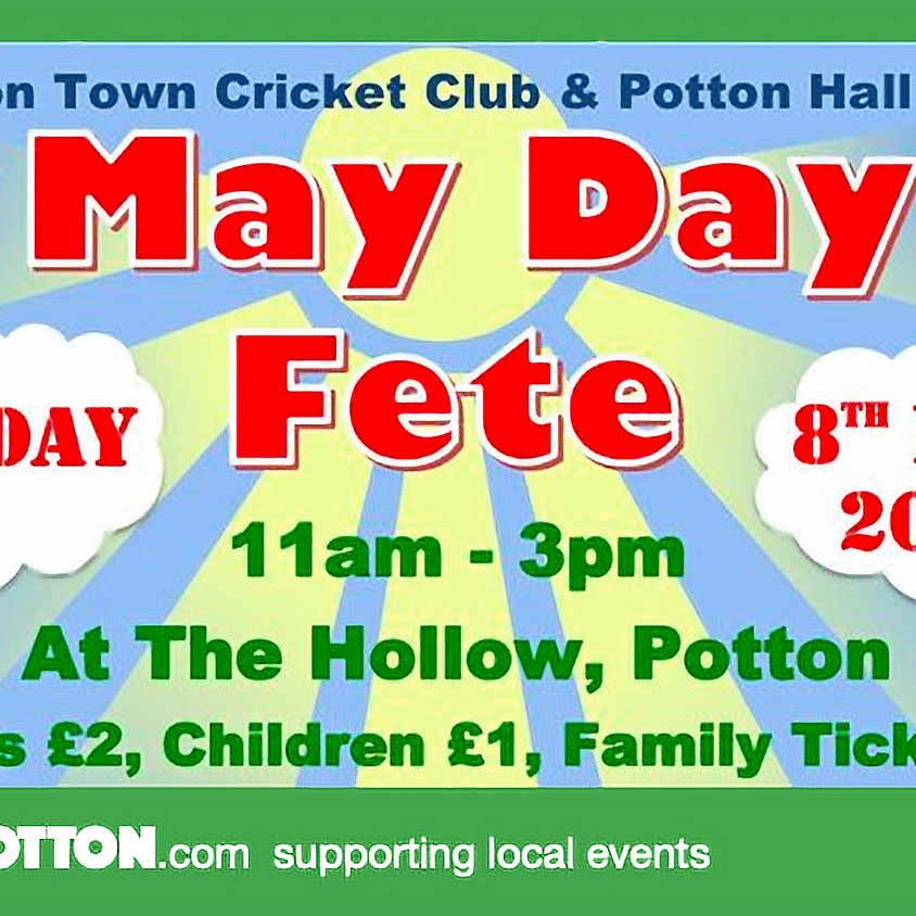CANCELLED - Potton May Day fete