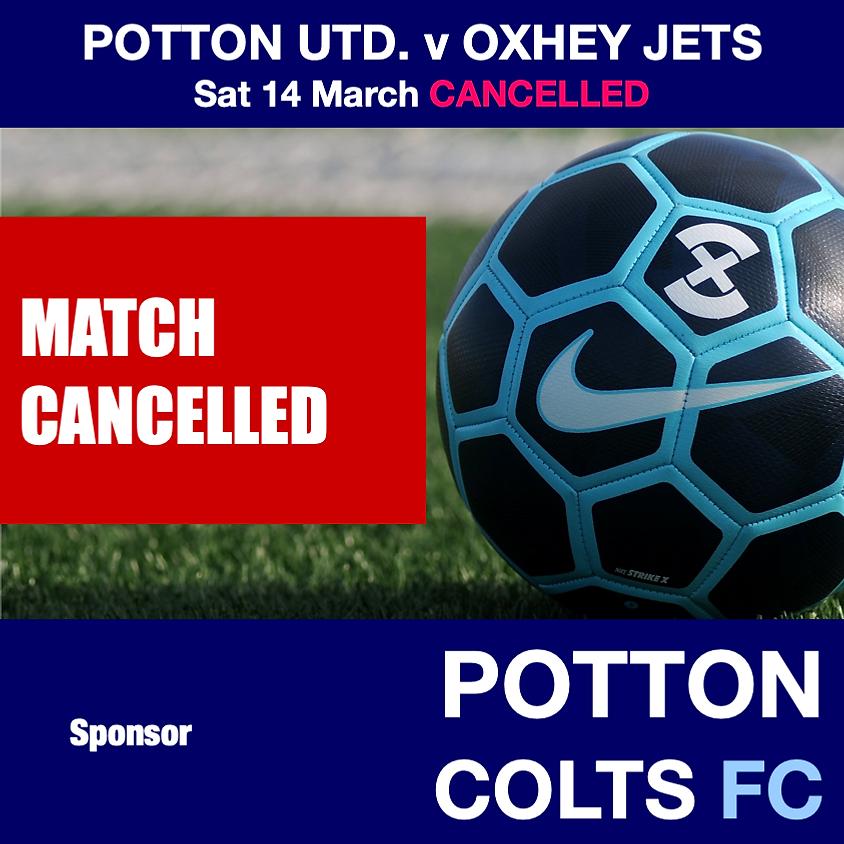 CANCELLED - Potton United v Oxhey Jets