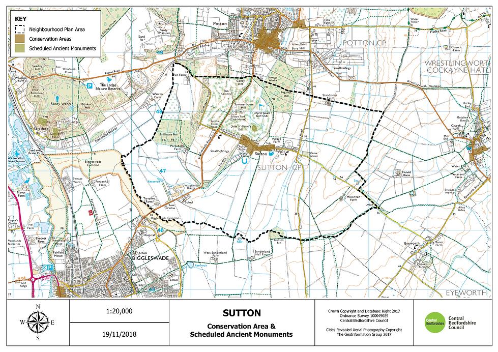3. Sutton Conservation Area & Scheduled