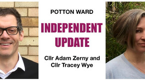 Sept 21 - Independent councillors update