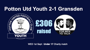 PUYFC win & £306 raised