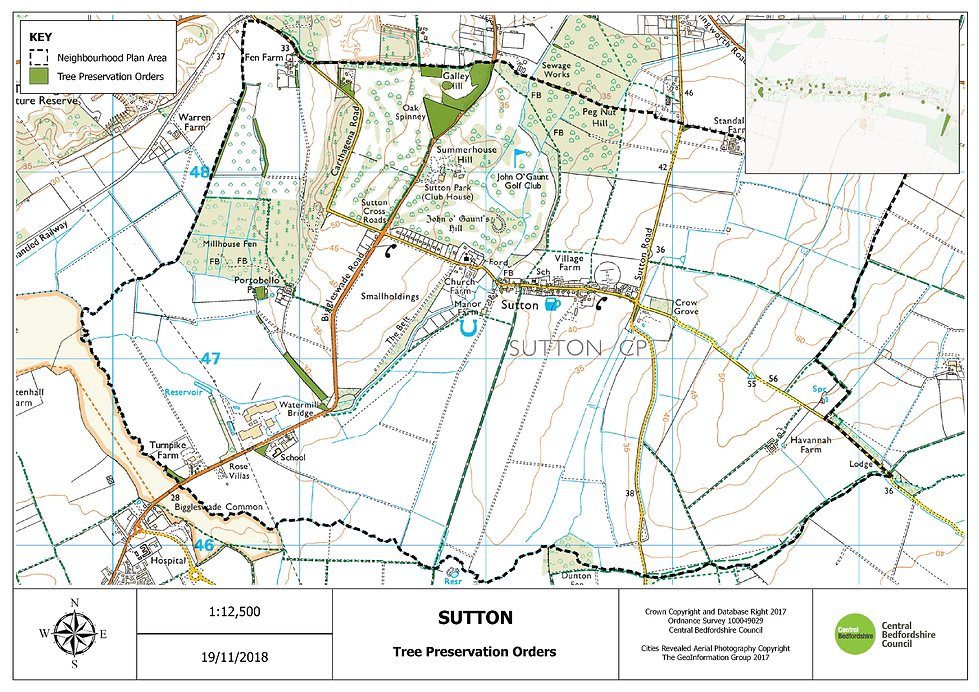 5. Sutton Tree Preservation Orders A3L I