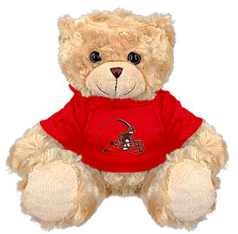 "Cleveland Browns 9"" Hoodie Rally Bear"